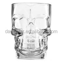 Halloween prop shot glasses set of 4 skull man