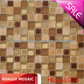 projeto quente mosaico cerâmico mosaico de vidro misturado hotel