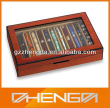 Hot!!! Customized Made-in-China Antique Pens Delicate Packaging Wooden Box(ZDW13-P011)