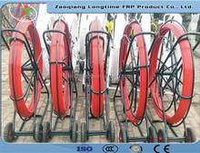 High Strong FRP Duct Rodder/Supply New FRP Rods/Electric Cable Duct Rod