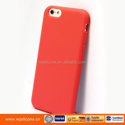 Soft silicon rubber Cover phone case for iphone 6s cellphone cover