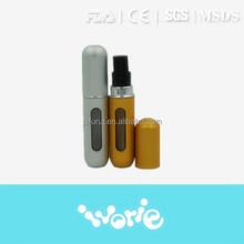 Hot sale aluminium refill perfume atomizer spray bottle, empty perfume atomizer