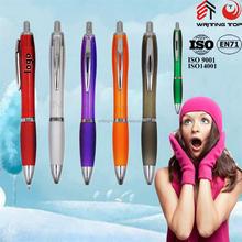2015 custom ballpoint pen plastic