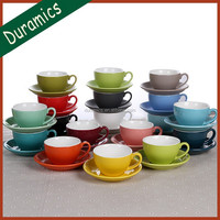 Good quality factory direct custom bulk tea cup and saucer sets