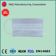 Xiantao factory disposable PP medical mask for defending PM 2.5