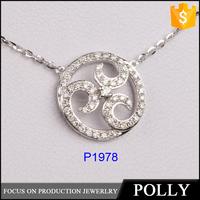 2015 new design scalar energy pendant 925 silver pedant wholesale high quality low price