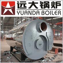 Industrial low pressure Diesel and oil fired steam boiler, oil fueled steam boiler