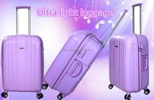 Purple trolley luggage bag/2015 new arrival luggage suitcase/Travelmate luggage