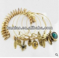2015 hot wholesale european old fashion charm bracelet