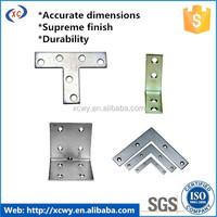 Electric plating shelf bracket with sheet metal fabrication technology
