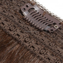 supreme 100% remy human hair extensions,clip in hair