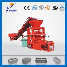 QTJ4-26 concrete block factory / concrete block manufacturing process
