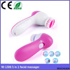 beauty skin care 5 in 1 massage rotativie girl face brush electric
