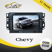 windows system car radio for chevy with dvd player navigation