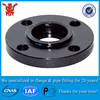 Low Price China Supplier HeBei Wholesale Carbon Steel Tube ff Pipe Flange ANSI A105n Customizable Round Black Floor Flange