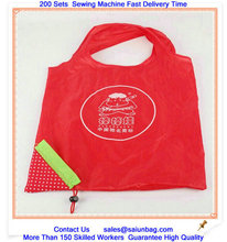 Japan BAGGU square pocket watermelon shaped shopping bag promotion for shopping