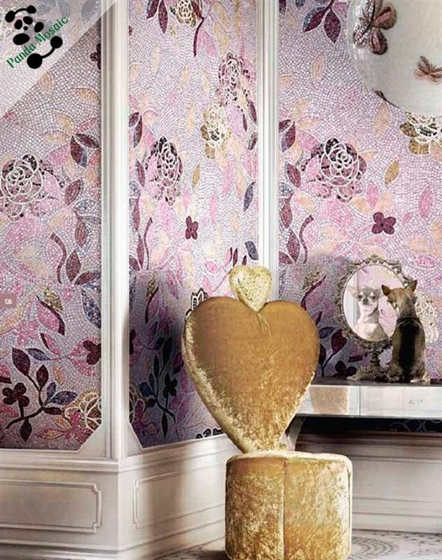 Mb Smm07 Handmade Flower Glass Mosaic Art Decorative Tile China ...