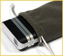 Velvet Drawstring phone Pouch for Promotion