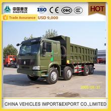SINOTRUK HOWO 8X4 TIPPER TRUCK transport truck wagon tippler alibaba express china