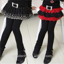 mejor venta de fábrica de los niños de la pu leggings