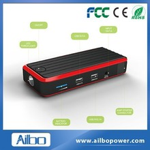 hot products 12000mah 400A peak car accessory 12v mini emergency car jump starter for laptop and smartphone