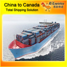 sea freight in canada from Shanghai