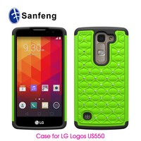 Fashion models for lg logos us550 cheap price pc silicon case