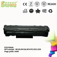Toner Cartridge for HP283a FOR USE IN HP Laserjet M125/M126/M127F/201/225 (PTCF283A)