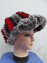 beanie hats with spikes/animal hat with fur child hat/2013 new style earflap fur hat russian hat winter hat