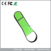 Alibaba Wholesale Factory Direct Produce High-Speed 1GB-32GB Leather USB for Cooperating Gift