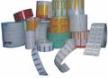 Rollo de encargo etiqueta etiqueta de la botella botella de plástico etiqueta de la etiqueta del perfume fábrica de la etiqueta engomada