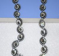 Rhinestone Crystal Applique Chain Bridal Costume Embelishment Trim