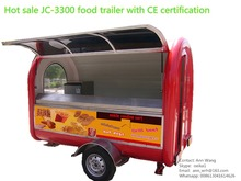 New Arrival! JC-3300 Stylish mobile wagon food cafe market stand cart