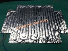 Customized adhesive low outgassing aluminum foil heater