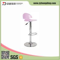 ZD-9802 Colorful acrylic bar stools,high bar chair