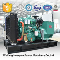 Weifang factory 380v single phase diesel genset