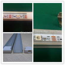 1M long 32pixels addressable WS2812B led rigid bar;U type alu profile;DC5V input;non-waterproof;clear or milky cover