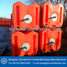 Cylindrical Ball Square typpe Mooring Anchor Marker Foam Buoys