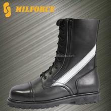 2015 high quality wholesale cheap black men's military combat boot