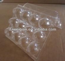 Cheap plastic egg trays,quail eggs boxes,plastic disposable pet quail egg tray