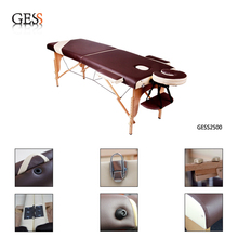 Sales from Stock 2 Sections Classic Wooden Folding Massage Table for Sale