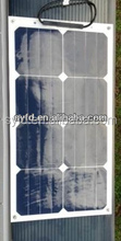 Semi Flexible Solar Panel 25W for marine environment (CE,ISO,TUV,IEC)