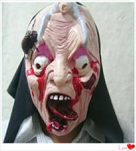 Halloween devil masks/plastic horror mask for Halloween party