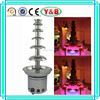 CE proved 6 tiers large commercial chocolate fountain machine