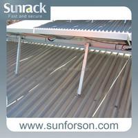 Flat Roof Solar Racking System Adjustable