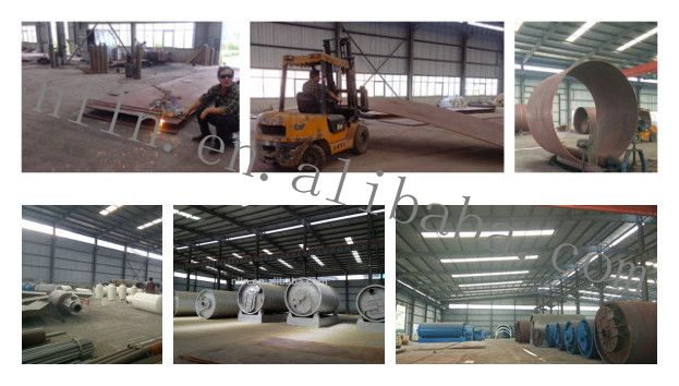 2014 newest Long usage life used tyre recycling plant to Fuel oil
