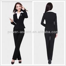 mujer trajes de negocios el último diseño uniforme