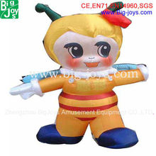 inflatable cartoon girl for advertising