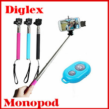 Wholesale Cheap Monopod Selfie Stick with Bluetooth Smart Phone Monopod in stock