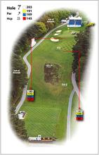 Golf course yardage books/stroke savers